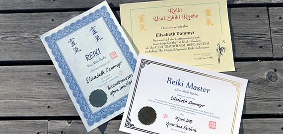 Certifikat- Reiki Master